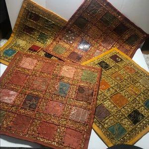 Antique pillow cases